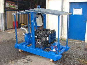 Groupe moto pompe irrigation